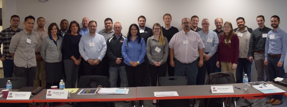 The 2016 FIA Management Development Institute (MDI) graduating class included 23 students from 16 member companies.